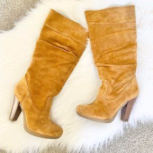 Kors by Michael Kors suede slouch boots